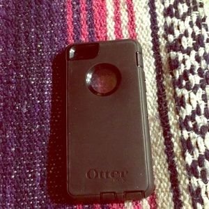 Other - Black Iphone 6 otter box case